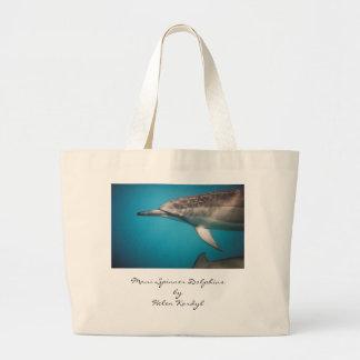 Spinner Dolphin, Maui Spinner DolphinsbyHelen K... Jumbo Tote Bag