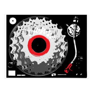 Spinning Cogs Postcard