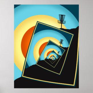 Spinning Disc Golf Baskets 1 Poster