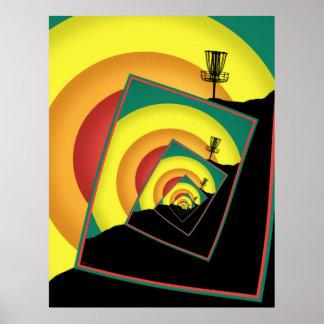 Spinning Disc Golf Baskets 3 Poster