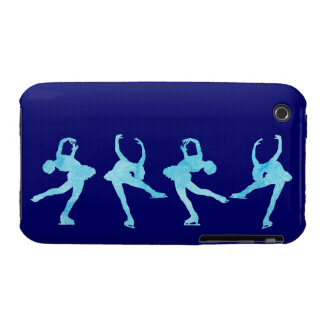 Spinning Figure Skater iPhone 3 Case-Mate Cases