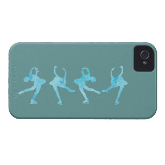 Spinning Figure Skater iPhone 4 Case