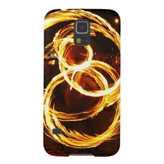 Spinning Fire - Abstract Galaxy S5 Covers