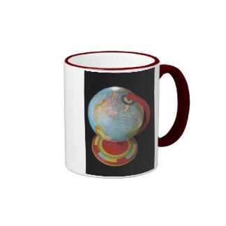 Spinning Globe Coffee Mug
