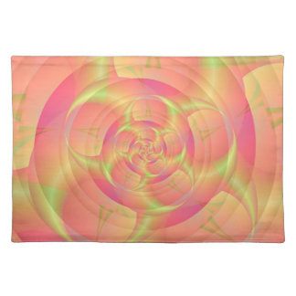 Spinning in Pink and Yellow Placemats