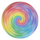 Spinning Rainbow Plate