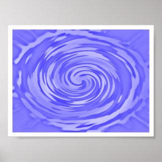 Spinning Ripple Poster