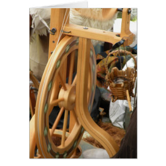 Spinning Wheel Card