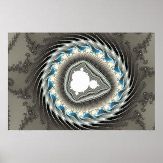 Spinning Wheel - Fractal Poster