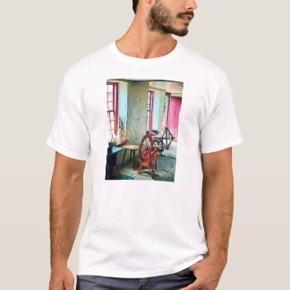 Spinning Wheel Near Window T-Shirt