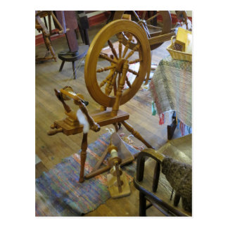 Spinning Wheel Postcard