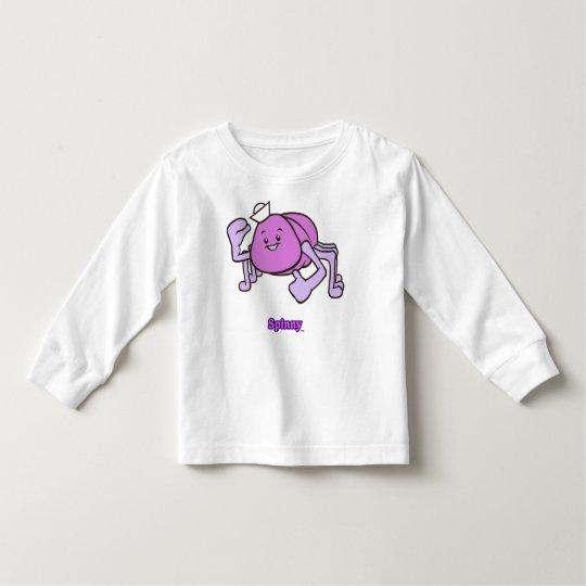 Spinny Toddler-Sized Long Sleev T-Shirt