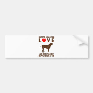 Spinone Italiano Bumper Sticker