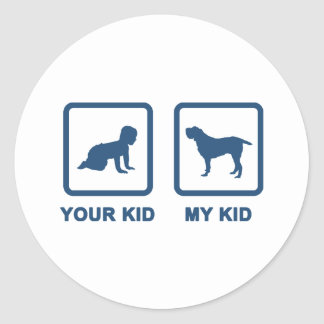 Spinone Italiano Classic Round Sticker