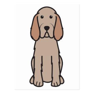 Spinone Italiano Dog Cartoon Postcard