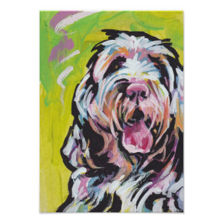 Spinone Italiano Pop Art Poster Print