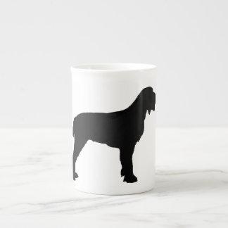 Spinone Italiano silo black.png Bone China Mug