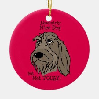 Spinone Nice dog Christmas Ornament