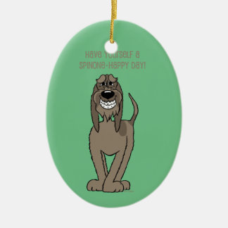 Spinone Smile Christmas Ornament