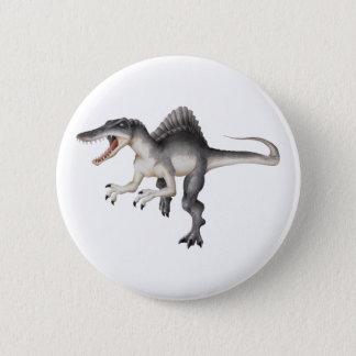 Spinosaurus 6 Cm Round Badge