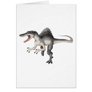 Spinosaurus Greeting Cards