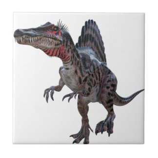 Spinosaurus Running Small Square Tile