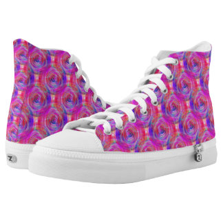 Spinout 2 printed shoes