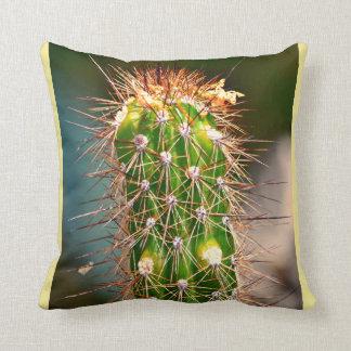Spiny Cactus Poly Throw Pillow