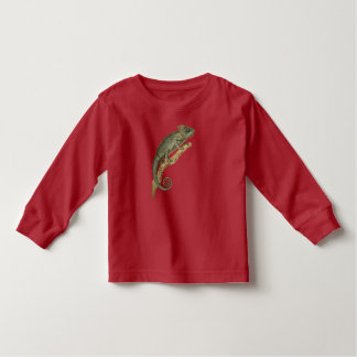 Spiny Chameleon Long-Sleeve Toddler Tee
