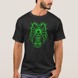 Spiny Lobster Neon Green T-Shirt