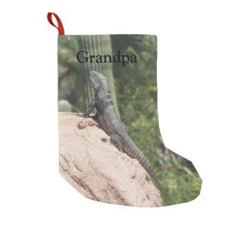 Spiny-tailed Iguana Small Christmas Stocking