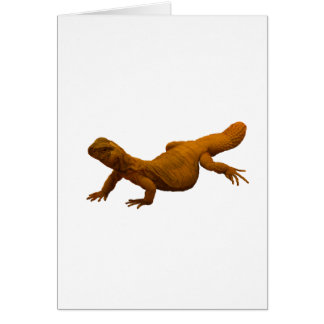 Spiny-Tailed Lizard Card