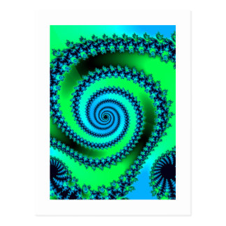 Spirafract2 Postcard