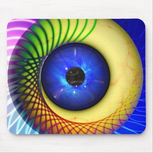 spiral-240131 FANTASY DIGITAL REALISM spiral, endl Mousepads