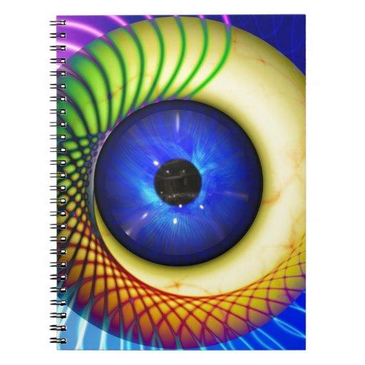 spiral-240131 FANTASY DIGITAL REALISM spiral, endl Spiral Notebook