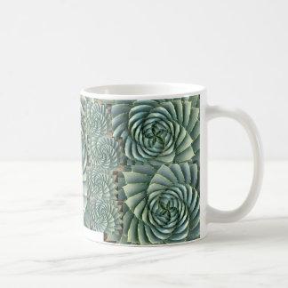 Spiral Aloe Succulent Mug