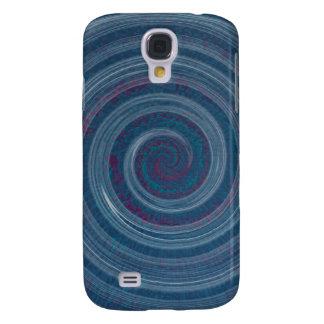 spiral blue - hypnotic samsung galaxy s4 case