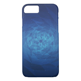 Spiral Blue iPhone 8/7 Case