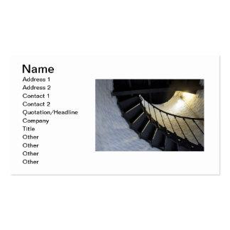 Spiral Business Card Template