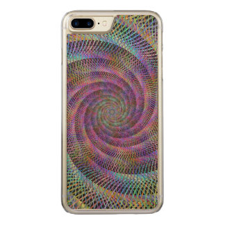 Spiral Carved iPhone 8 Plus/7 Plus Case