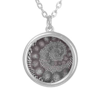 spiral circles.PNG Spiral Circles In Ink Necklace