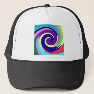 Spiral Color Trucker Hat