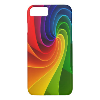 Spiral Colorful Art Arcoíris iPhone 8/7 Case