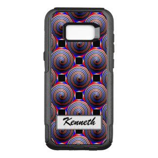 Spiral Cone by Kenneth Yoncich OtterBox Commuter Samsung Galaxy S8+ Case