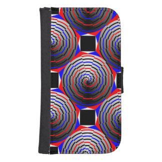 Spiral Cone Galaxy S4 Wallet