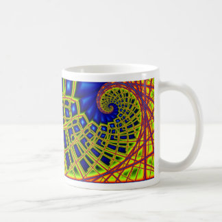 spiral construction coffee mug