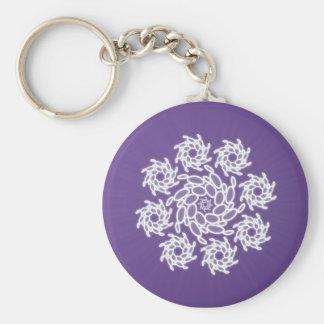 Spiral Dance Keychain