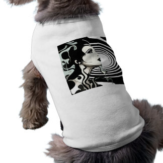 Spiral dog coat shirt