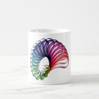 Spiral drop spiral drop coffee mug