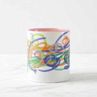 Spiral Fantasy Mug